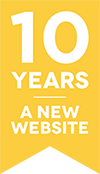10 years - a new website